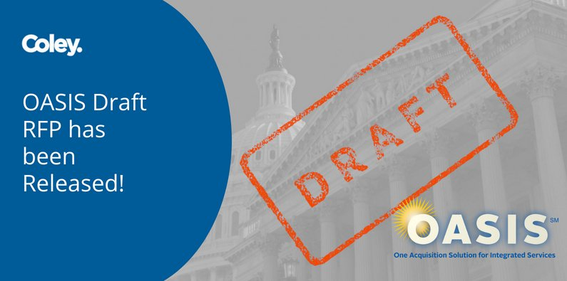 OASIS Draft RFP has been Released!
