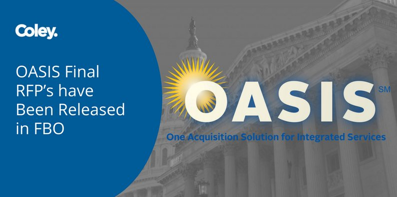OASIS Final RFP's have Been Released in FBO