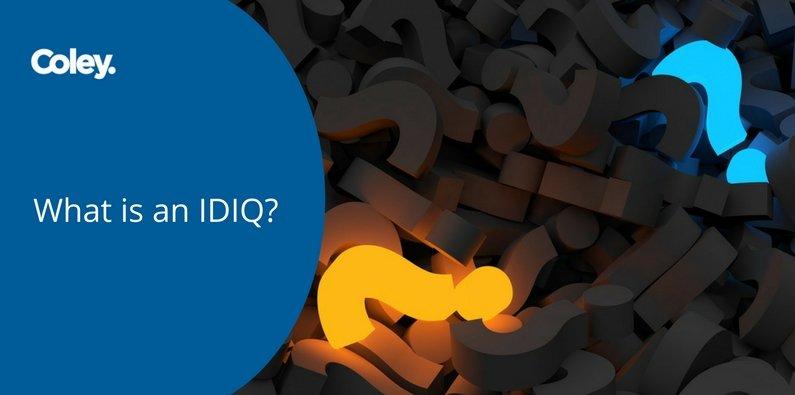 What is an IDIQ?