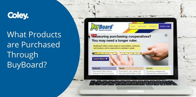 What Products are Purchased Through BuyBoard?