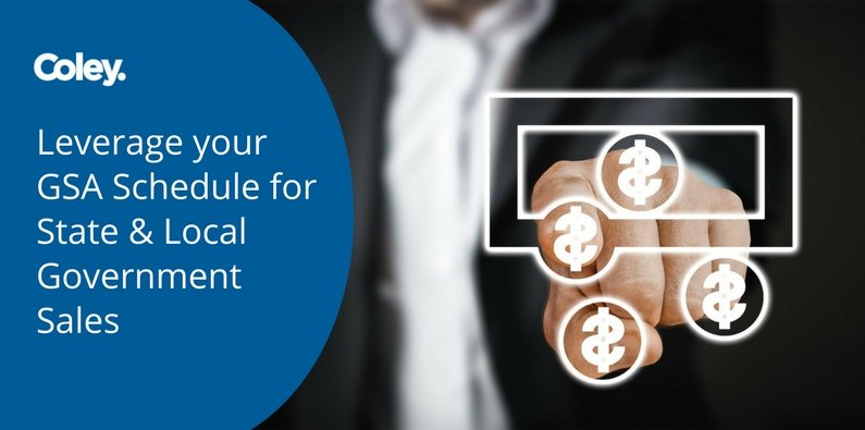 Leverage your GSA Schedule for State & Local Government Sales