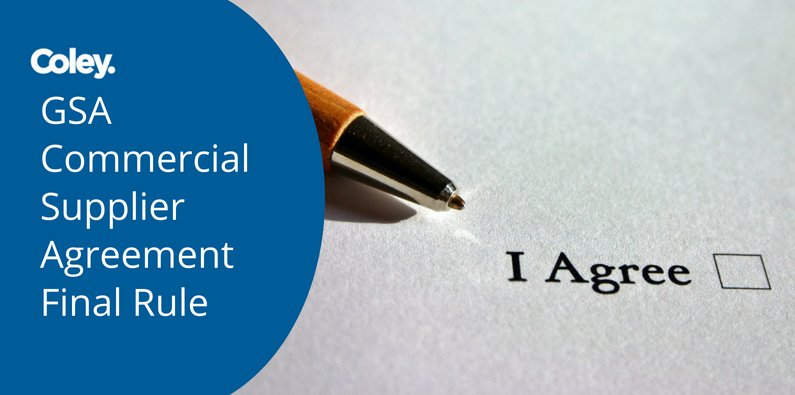 Gsa Commercial Supplier Agreement Csa Final Rule