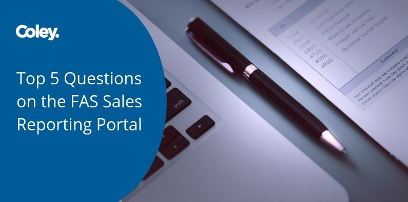 Top 5 Questions on the FAS Sales Reporting Portal
