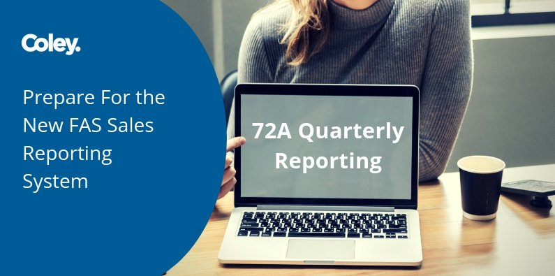 Prepare For the New FAS Sales Reporting System