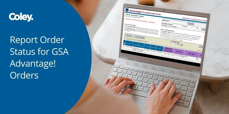 Report Order Status for GSA Advantage! Orders